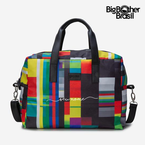 Bolsa de Viagem Joy Personalizada - Pop TV - BBB21