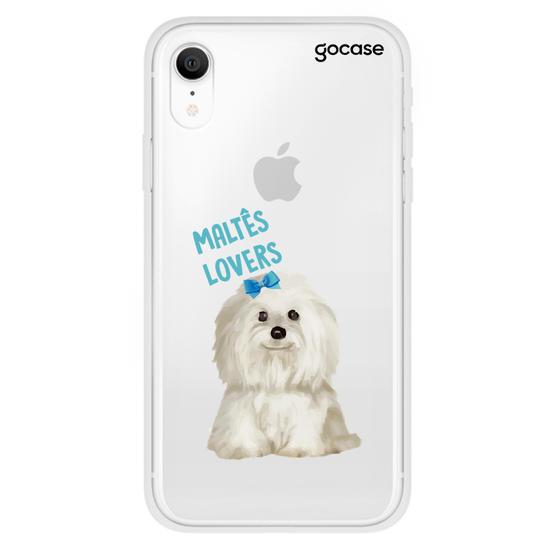 Capinha para celular Maltês Lovers