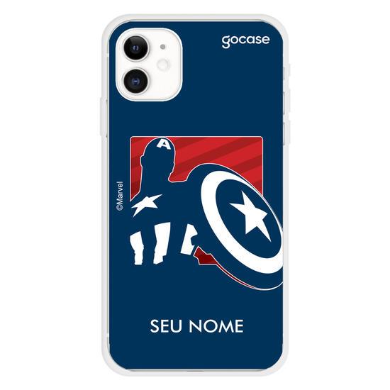 Capinha para celular Marvel - Sentinela da Liberdade Style
