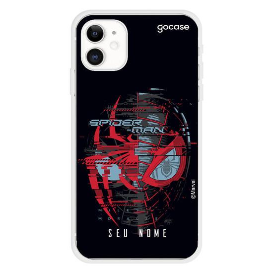 Capinha para celular Spider-Man Glitch