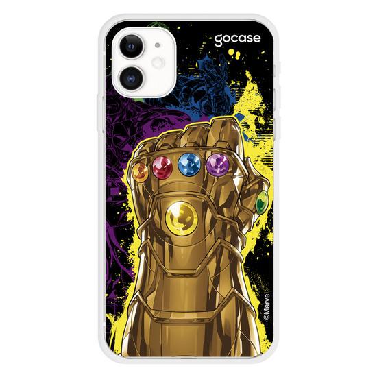 Capinha para celular Marvel - Vingadores, Manopla do Infinito