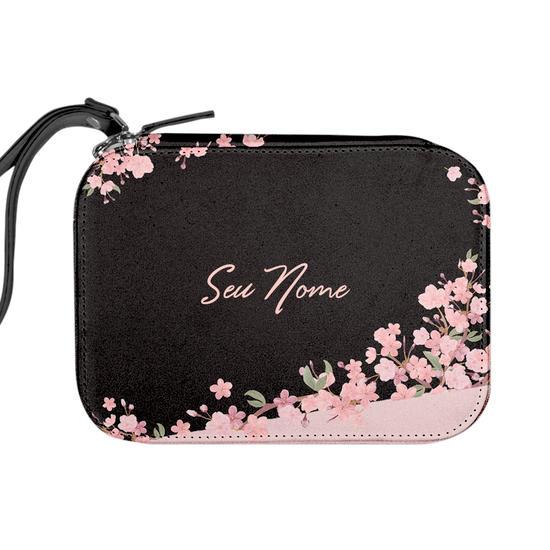 Necessaire Maquiagem Personalizada - Classical Rosé Black