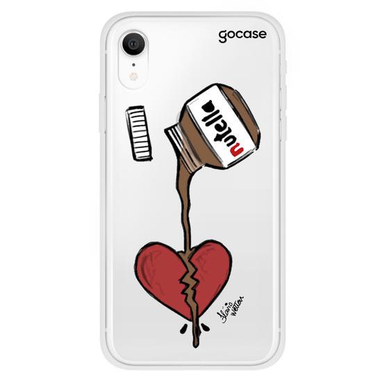 Capinha para celular Nutella