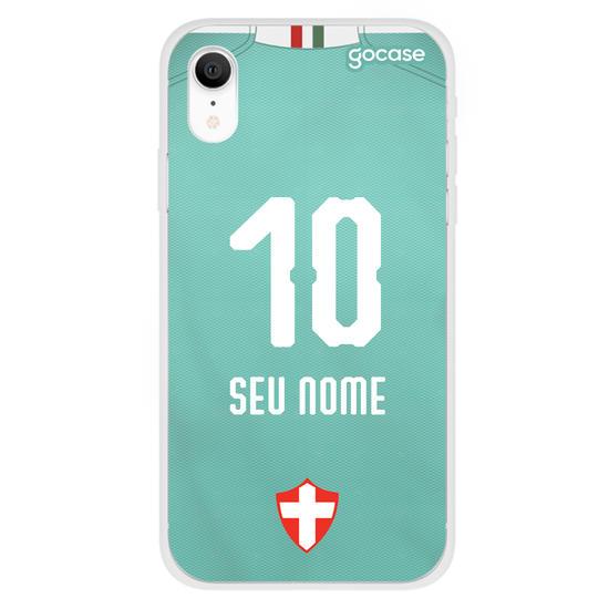 Capinha para celular Palmeiras - Uniforme III - 2019 - Personalizado