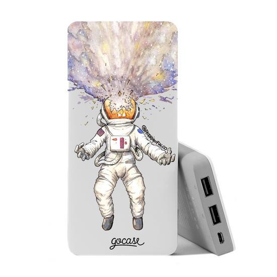 Carregador Portátil Power Bank (10000mAh) - Astronauta