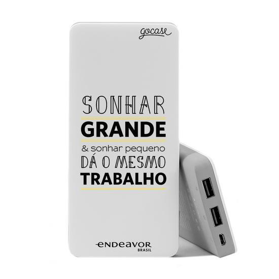 Carregador Portátil Power Bank (10000mAh) - Endeavor - Sonhar Grande