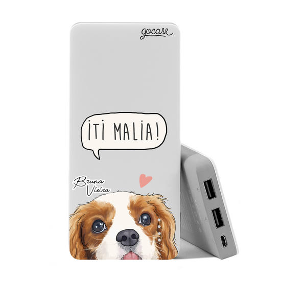 Carregador Portátil Power Bank (10000mAh) - Iti Malia by Bruna Vieira