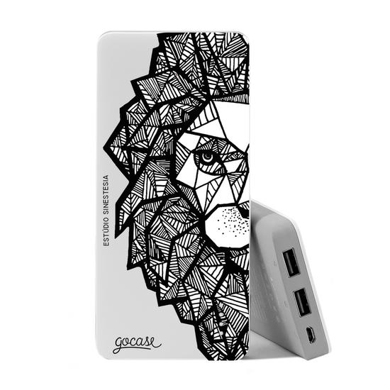 Carregador Portátil Power Bank (10000mAh) - Lion
