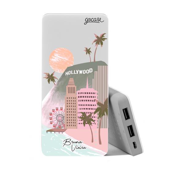 Carregador Portátil Power Bank (10000mAh) - Minha Califórnia by Bruna Vieira