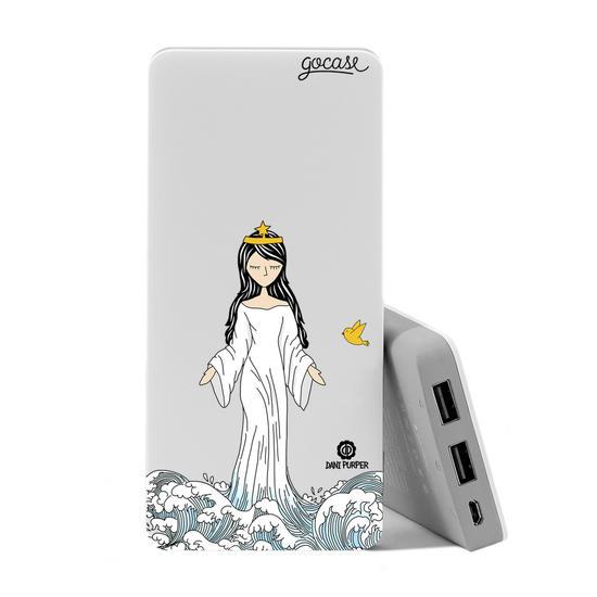 Carregador Portátil Power Bank (10000mAh) - Rainha dos Mares