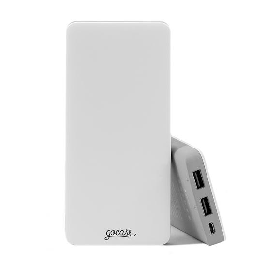 Carregador Portátil Power Bank (10000mAh)  -  Clear