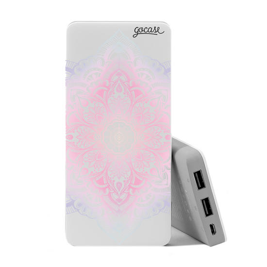Carregador Portátil Power Bank (10000mAh)  - Furta Cor