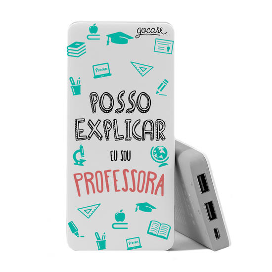 Carregador Portátil Power Bank (10000mAh) - Posso Explicar