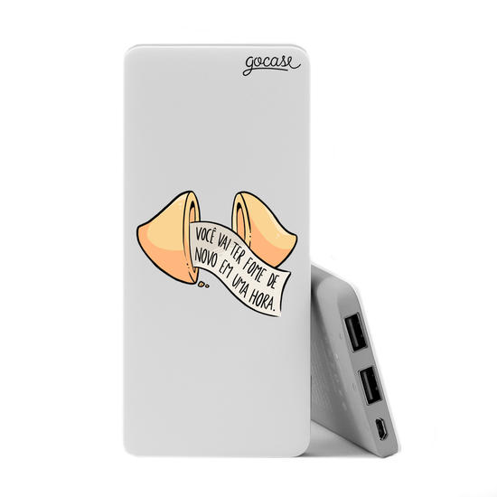 Carregador Portátil Power Bank Slim (5000mAh) - Biscoito da Sorte