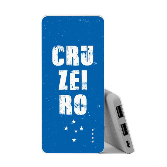 Carregador Portátil Power Bank Slim (5000mAh) - Cruzeiro