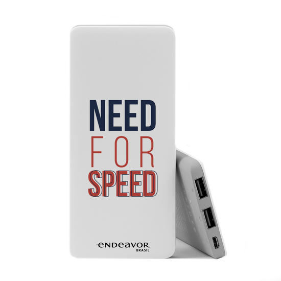 Carregador Portátil Power Bank Slim (5000mAh) - Endeavor - Need For Speed