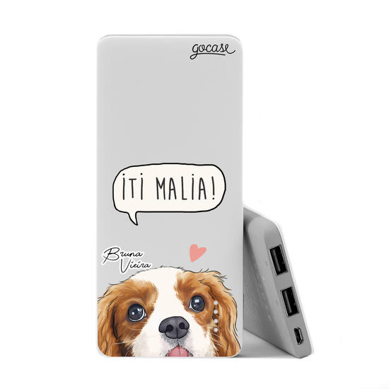 Carregador Portátil Power Bank Slim (5000mAh) - Iti Malia by Bruna Vieira