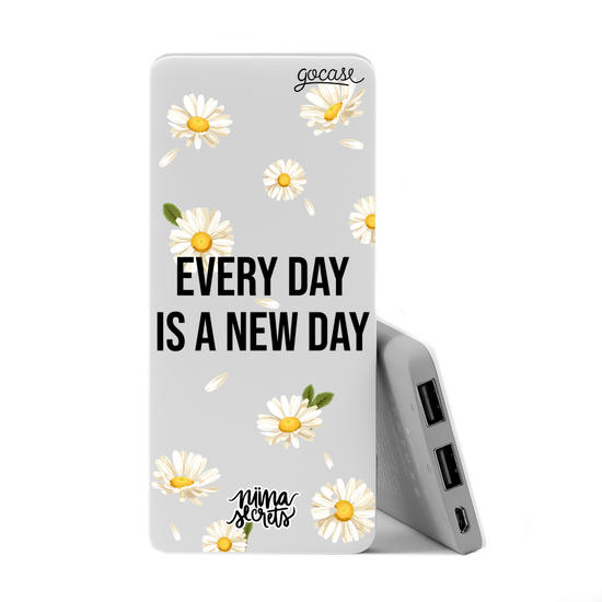 Carregador Portátil Power Bank (5000mAh) - Novo Dia by Niina Secrets