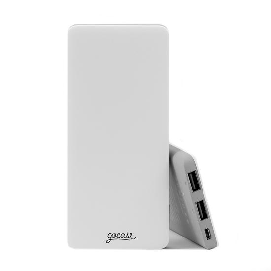 Carregador Portátil Power Bank Slim (5000mAh)  -  Clear