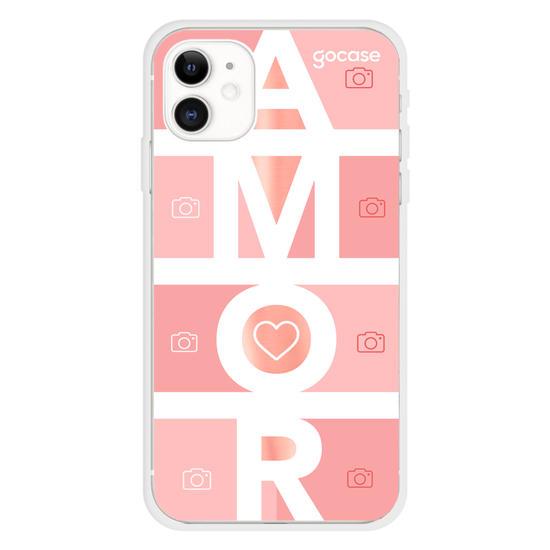 Capinha para celular Picture Amor