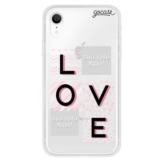 Capinha para celular Picture - Love Grid
