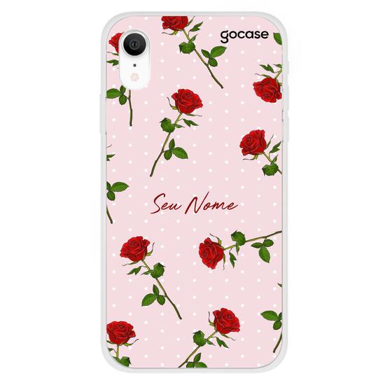 Capinha para celular Rosas Graciosas