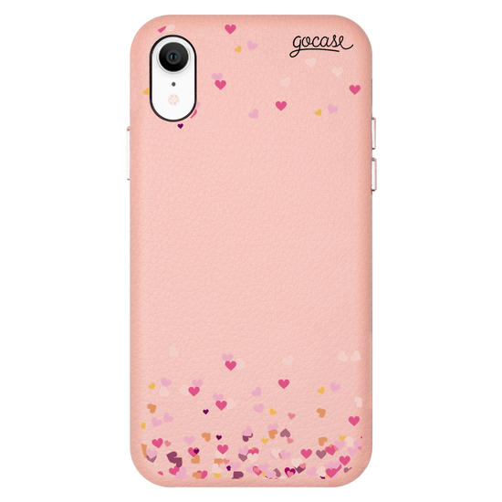 Royal Rose - Royal Rose Hearts Initial Glitter Phone Case Phone Case