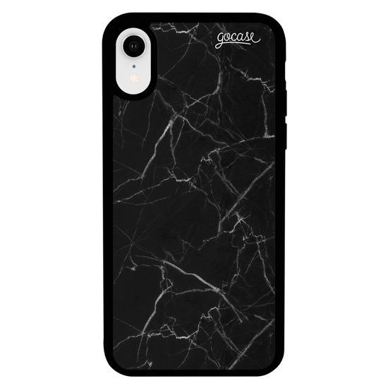 Capinha para celular Prime - Iniciais Marble Black