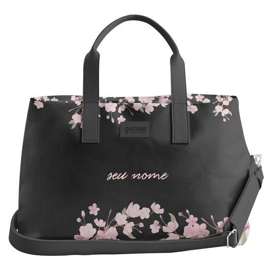 Bolsa de Viagem Joy - Classical Rosé Black Personalizada