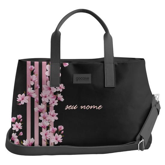 Bolsa de Viagem Joy - Floral Lines Personalizada