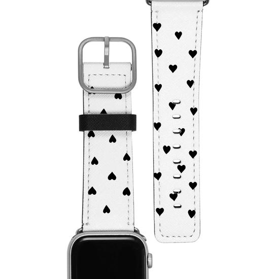 Pulseira Apple Watch - Black Hearts