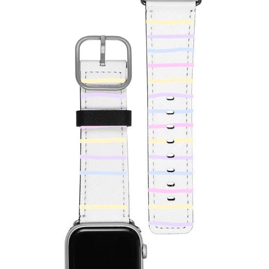 Pulseira Apple Watch - Linhas Candy