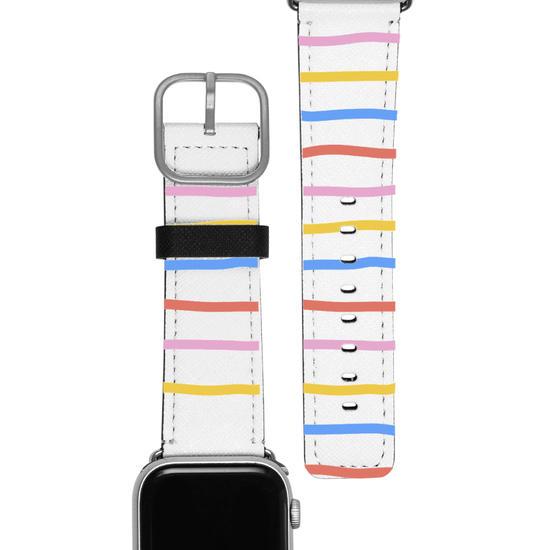 Pulseira Apple Watch - Linhas Coloridas