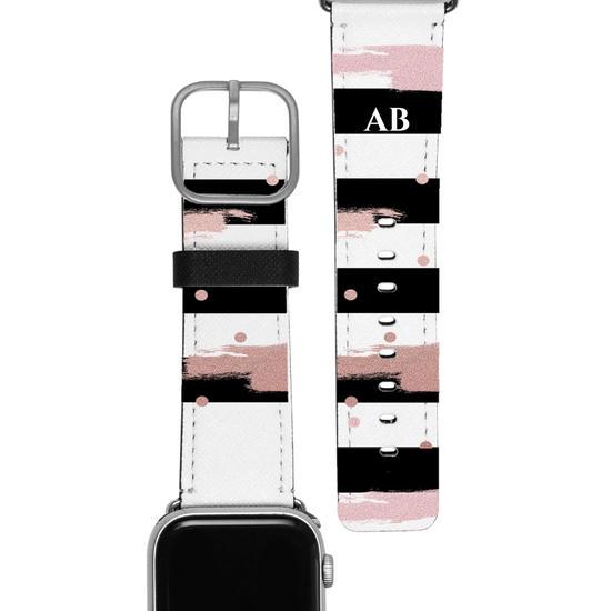 Pulseira Apple Watch - Glam Stripes