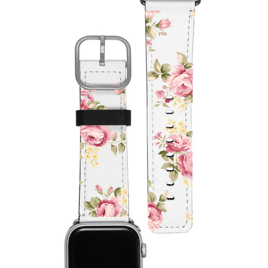Pulseira Apple Watch - Flores Vintage