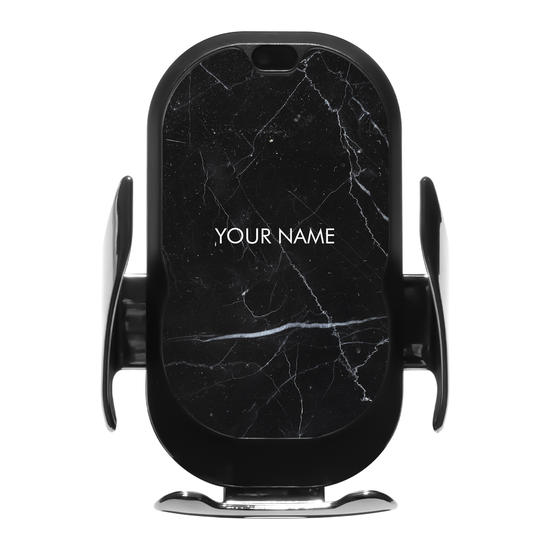 Wireless Car Charger - Marble Black