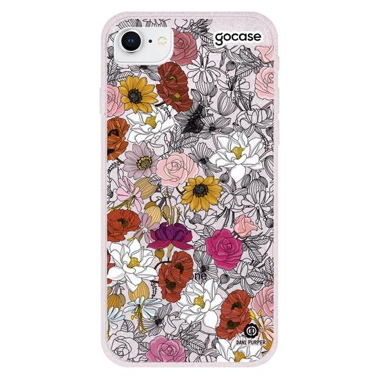 Capinha para celular Traço em Flor