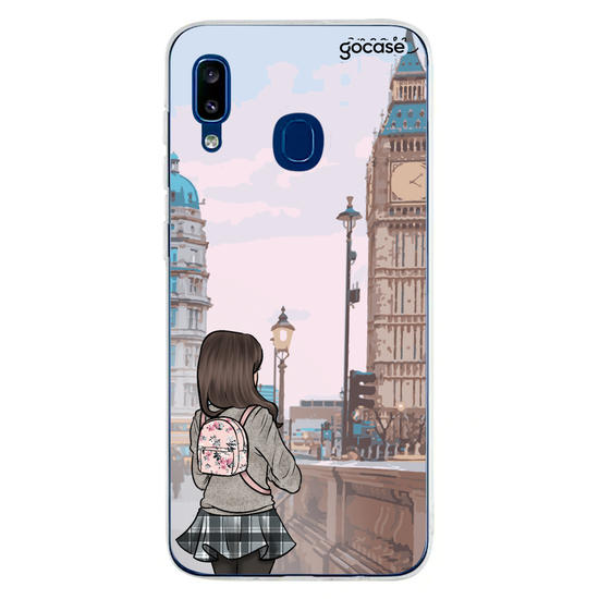 Capinha para celular Travel Lover - Londres