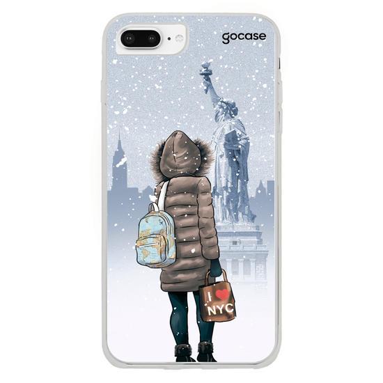 Capinha para celular Travel Lover - Nova Iorque