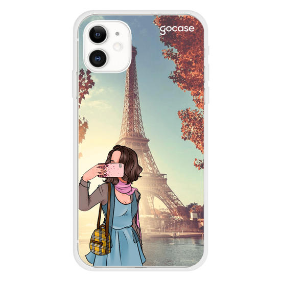 Capinha para celular Travel Lover - Paris