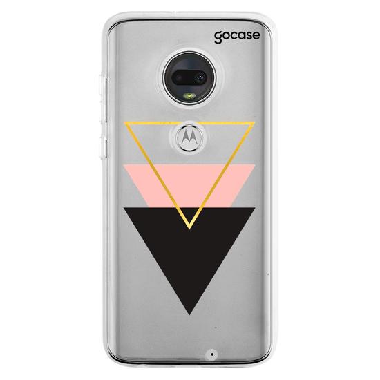 Capinha para celular Triângulo Tricolor