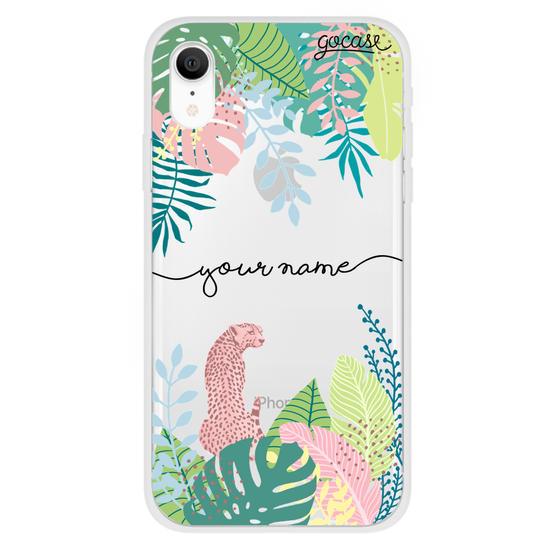 Tropical Plants Handwritten Phone Case