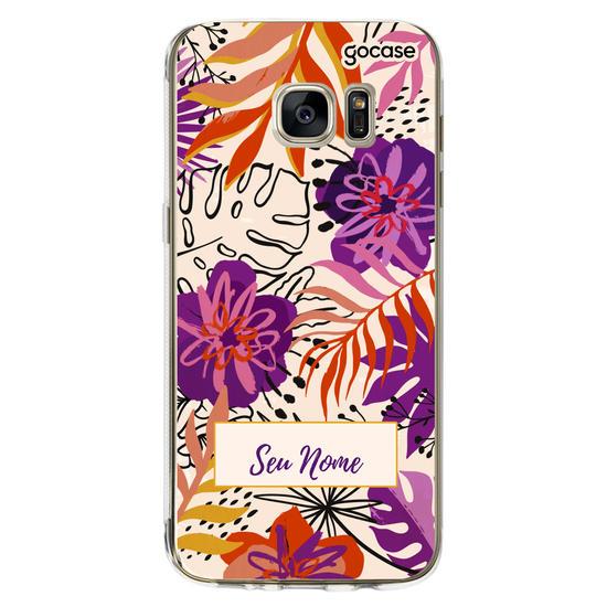 Capinha para celular Tropical Vibrante