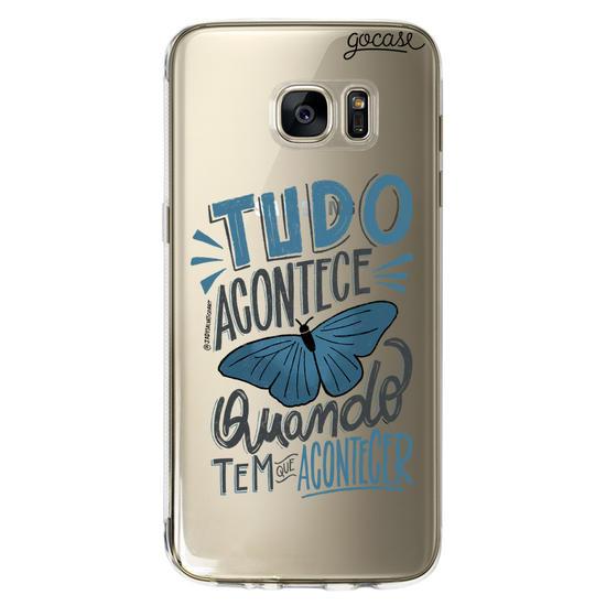 Capinha para celular Tudo Acontece