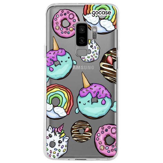 Capinha para celular Donuts Unicórnios