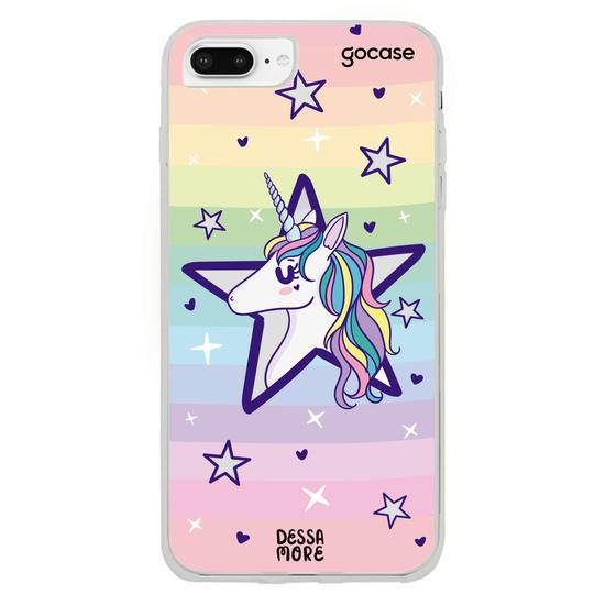 Capinha para celular Unicórnio Estrela