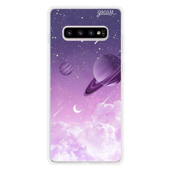 Capinha para celular Universo Purple