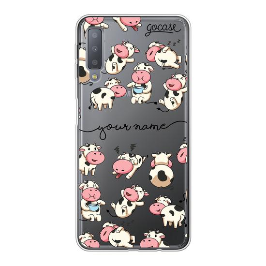 Cows Handwritten Phone Case