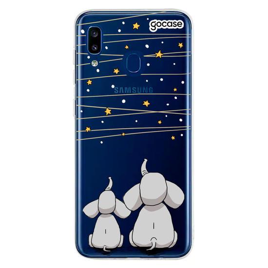 Capinha para celular Varal de Estrelas