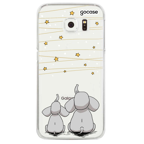 Elephants and the Stars  Phone Case